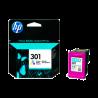 Cartucho color HP nº301