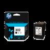 Cartucho negro HP nº302