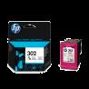 Cartucho color HP nº302