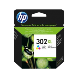 Cartucho color HP nº302 XL
