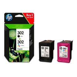 Multipack 2 cartuchos HP 302