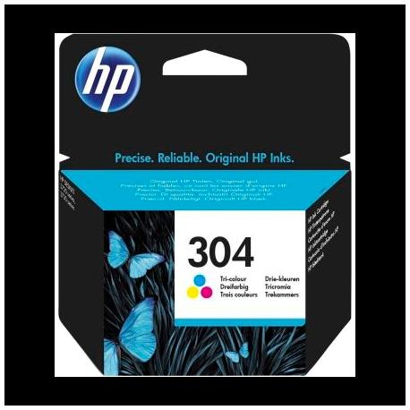 Cartucho color HP nº304